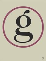 G Circle Fine Art Print