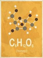 Molecule Honey Fine Art Print
