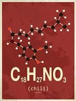 Molecule Chili Fine Art Print