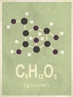 Molecule Glucose Fine Art Print