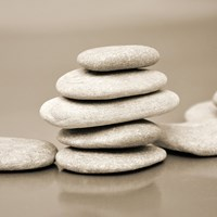 Zen Pebbles 4 Fine Art Print