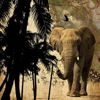 Mighty Elephant 2 Fine Art Print