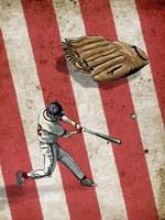 American Baseball 2 Fine Art Print