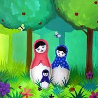 Babushka Woods Fine Art Print
