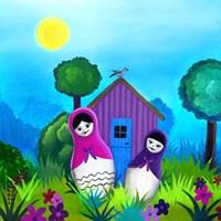 Babushka Home Fine Art Print