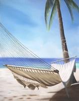 Beach Hammock Fine Art Print