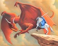 Brave Knight Fine Art Print