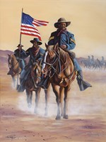 Buffalo Soldiers Fine Art Print
