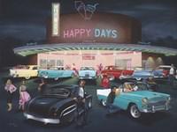 Happy Days Fine Art Print
