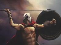 Spartan Warrior Fine Art Print