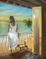 Woman Beach Fine Art Print