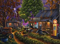 Sleepy Hollow General Store Fine Art Print