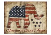 America Is Great Again Fine Art Print