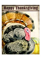 Happy Thanksgiving Fine Art Print