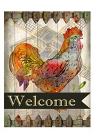 Fall Rooster Fine Art Print
