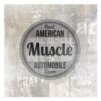 American Garage 2 Fine Art Print