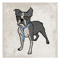 Nerdy Terrier 2 Fine Art Print