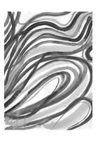 Charcoal Ripples 2 Fine Art Print