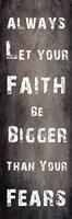 Faith And Fear Fine Art Print