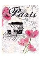 All Things Paris 4 Framed Print