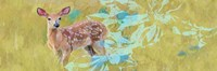 Doe With Magnolia Fine Art Print