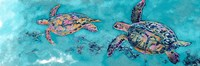 Turtles Together Fine Art Print