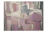 Abstract Soft Pink Fine Art Print