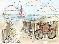 Coastal Catch VI Framed Print
