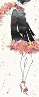 Floral Fashion IV Fine Art Print