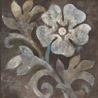 Fresco Floral I Framed Print