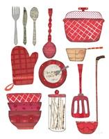 Cook Kitchen II Fine Art Print