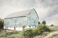 Late Summer Barn I Crop Fine Art Print