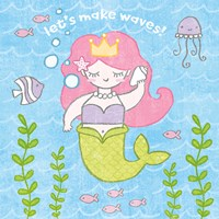 Magical Mermaid I Fine Art Print