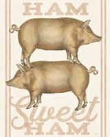 Ham Sweet Ham Fine Art Print