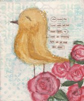 Yellow Bird Fine Art Print