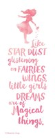 Little Girls Dreams Fine Art Print
