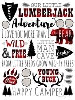Lumberjack Adventure Fine Art Print