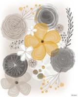 Yellow Floral II Fine Art Print