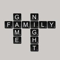 Game Night - Black Fine Art Print