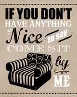 Come Sit by Me Fine Art Print