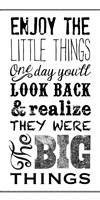 Little Things BNW Fine Art Print