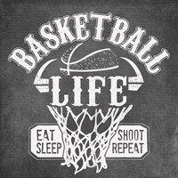 Basketball Life Fine Art Print