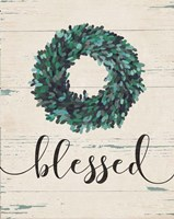 Blessed Wreath Fine Art Print