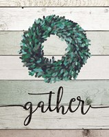 Gather Wreath II Fine Art Print