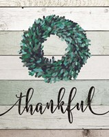 Thankful Wreath II Fine Art Print