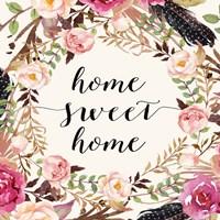 Home Sweet Home - Sq. Fine Art Print