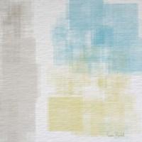 White Abstract I Framed Print