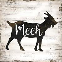 Farmhouse Goat Fine Art Print