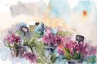 Farmer's Market Flowers Fine Art Print