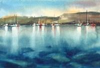 Boat Reflections Fine Art Print